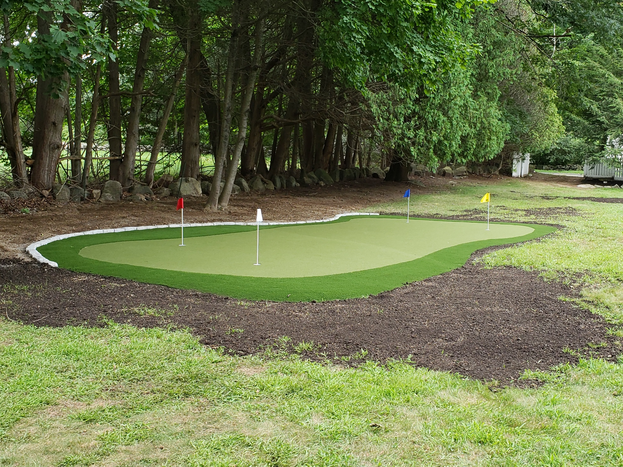 Backyard Putting Greens Massachusetts - New England Turf ...